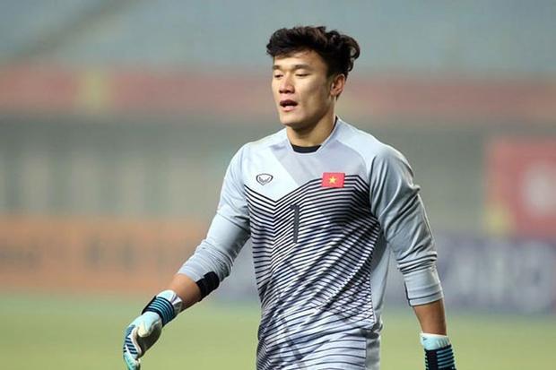 Tương lai đang rộng mở với thủ môn Tiến Dũng sau VCK giải U23 châu Á 2018.