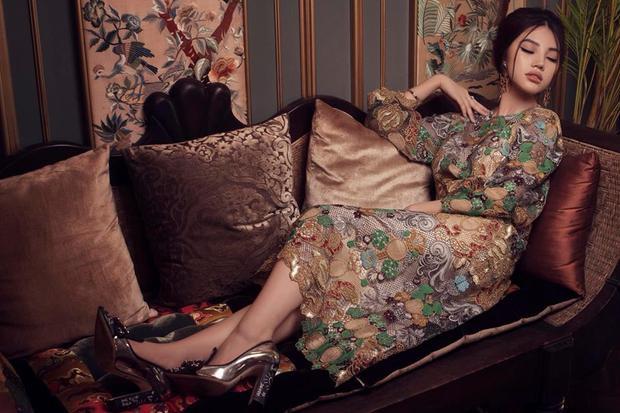 """""""Trang phục là một trong những cách để người phụ nữ thể hiện đẳng cấp của mình"""" - Hoa hậu Jolie Nguyễn."""