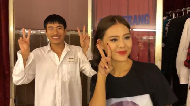 Kiều Minh Tuấn và Nam Thư.