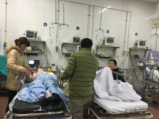 Nhiều người phải nhập viện cấp cứu trong ngày Tết. Ảnh NLĐ