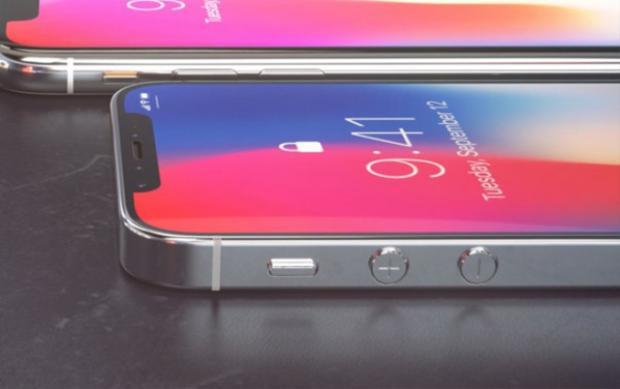 Ảnh dựng iPhone SE 2 được thể hiện theo phong cách của iPhone X với phần tai thỏ. Trước đó có thông tin cho rằng iPhone SE 2 sẽ ra mắt trong quý I năm 2018.