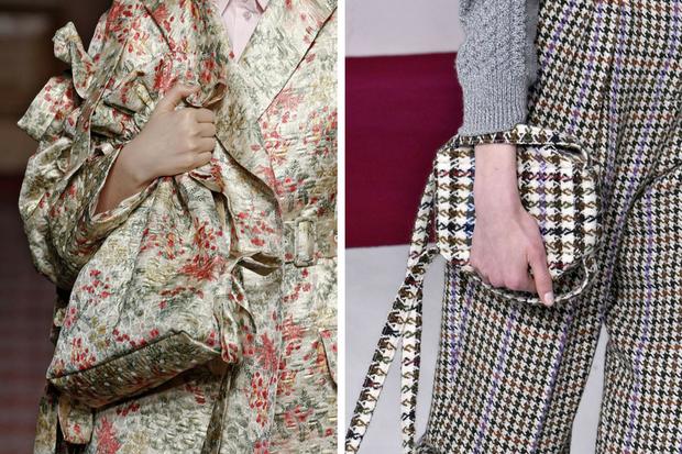 Túi được thiết kế họa tiết đồng điệu với cả set đồ cũng là một sự lựa chọn đáng lưu tâm.