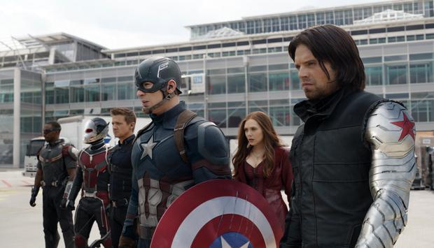 Captain America và chiến binh mùa đông Bucky đã ở đâu trong 'Black Panther'?