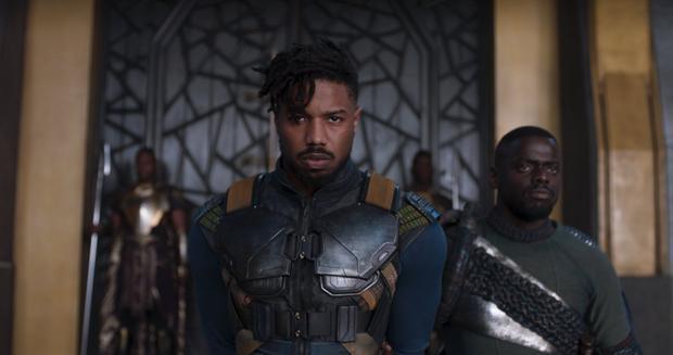 Trang phục của kẻ phản diện Killmonger trong Black Panther lấy cảm hứng từ Vegeta (Dragon Ball)?