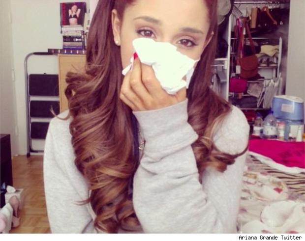Tình trạng sức khoẻ của Ariana Grande thật nắng mưa thất thường!