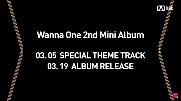 Các fan sẽ được thưởng thức ca khúc chủ đề từ album mới nhất của Wanna One vào ngày 5/3 chứ không phải 19/3 như dự đoán.