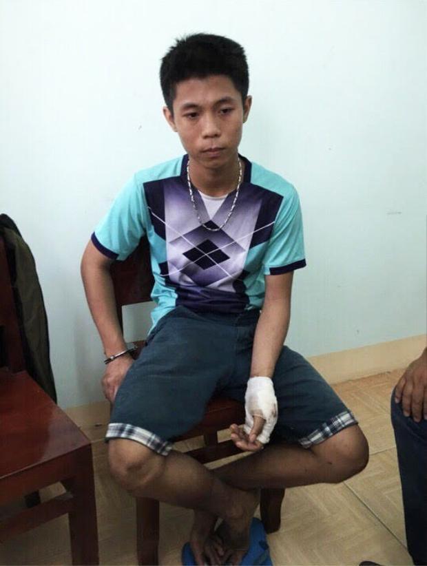 Quá trình sát hại 5 nạn nhân, Tình bị thương tích ở tay trái. Ảnh: Vietnamnet.