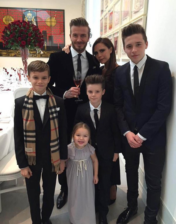 Lý giải về sức hút của gia đình này có lẽ bên cạnh tài năng của từng thành viên còn phải kể đến cuộc hôn nhân ngập tràn hạnh phúc của David và Victora Beckham.