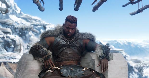 M'Baku trong Black Panther: Vẻ ngoài hầm hố nhưng thực chất hổ báo trường mẫu giáo