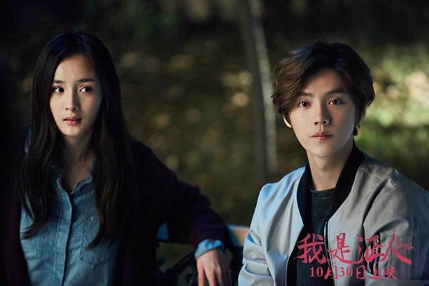 """Trong """"Tôi Là Nhân Chứng"""", Dương Mịch đảm nhận nhân vật bị mù còn Lộc Hàm trở thành cậu thanh niên bộc trực, hào sảng, đầy sức sống."""