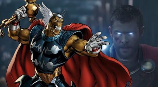 Một trong những kẻ hiếm hoi có khả năng nâng chiếc búa huyền thoại của Thor.