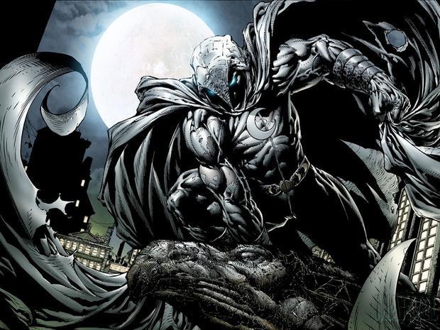 Tạo hình đầy ấn tượng của Moon Knight.