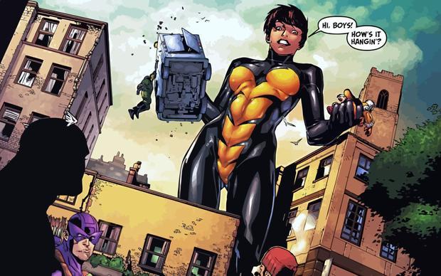 Một nữ siêu anh hùng vẫn còn khá bí ẩn và mới mẻ với khán giả toàn thế giới.