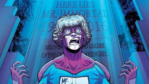 Một siêu anh hùng miễn nhiễm với cái chết thì sẽ như thế nào?