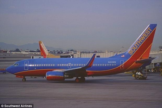 Hình ảnh chiếc máy bay trước khi cất cánh