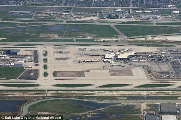 Hình ảnh sân bay quốc tế Salt Lake City