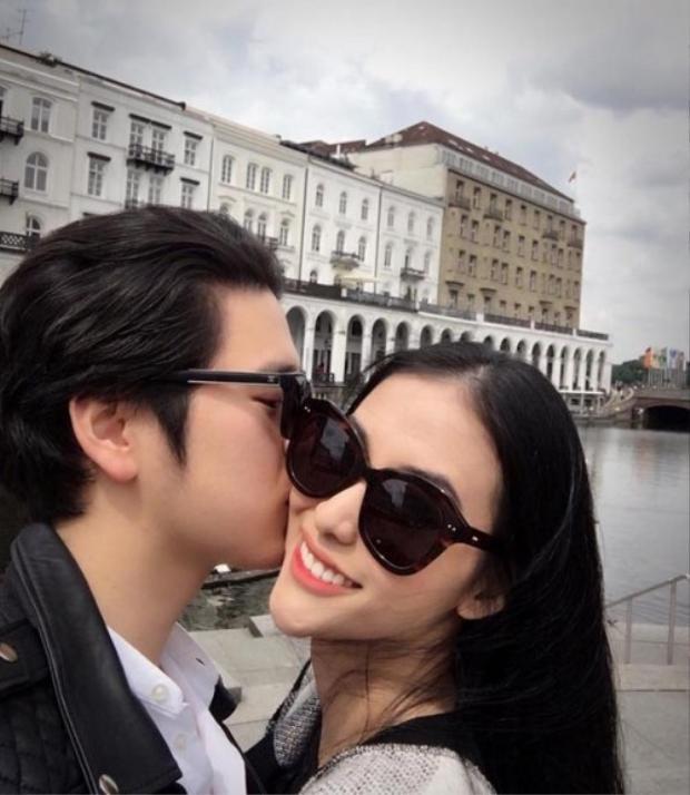 Những hình ảnh hạnh phúc của Mai Hồ bên vị hôn phu.