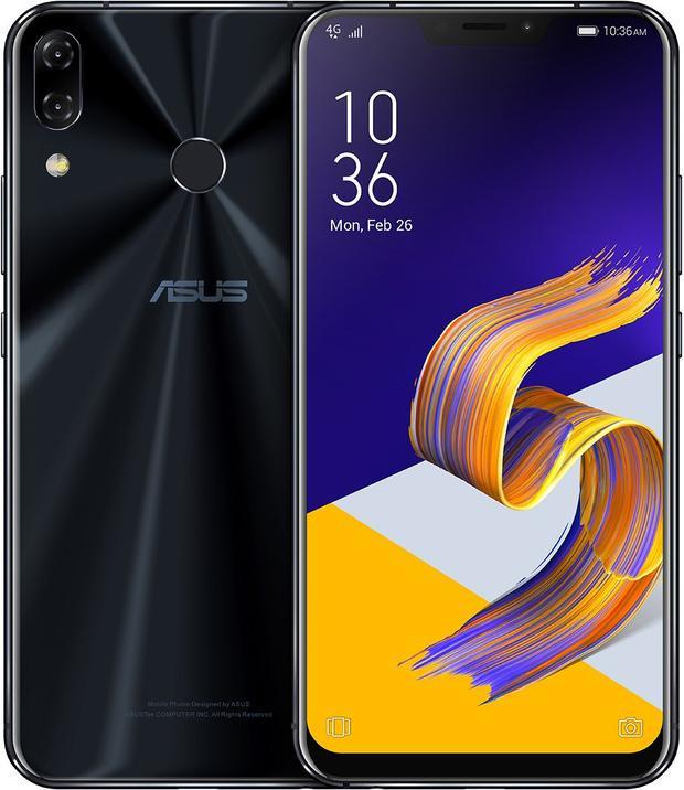 Asus ra mắt Zenphone 5/5Z: Màn hình chiếm 90% mặt trước, có tai thỏ giống iPhone X