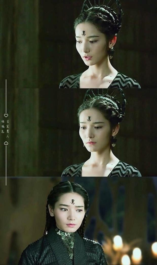 Vai diễn công chúa Dực tộc Yên Chi trong Tam sinh tam thế thập lý đào hoa của Đại Tư