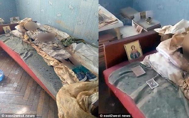 Một người phụ nữ 77 tuổi được phát hiện sống cùng xác ướp mẹ mình đã hơn 30 năm. Ảnh: East2west.news