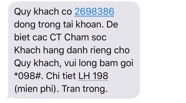 Lần cuối thôi xong chuyển qua thuê bao khác. Ảnh: Nguyễn Ngọc Quỳnh Châu.