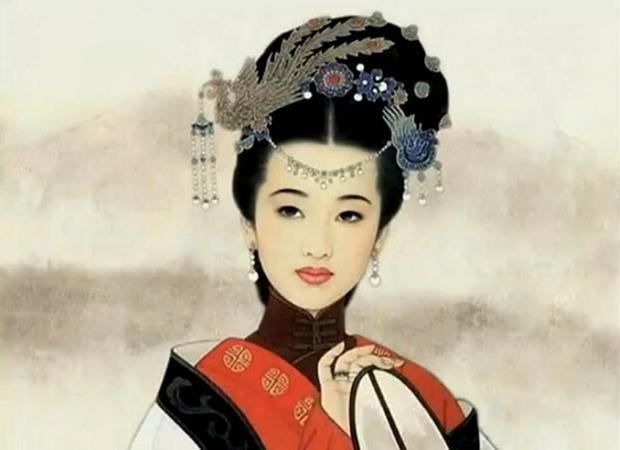 Tiêu Hoàng hậu, người phụ nữ tính tình hòa thuận, hiếu học, dung mạo xinh đẹp có cả tài xem vận mệnh. Ảnh: Baidu