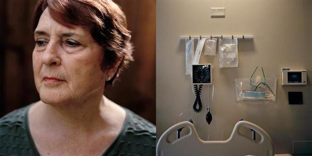 BàCarol Burke, người từng trải qua cảm giác cận kề cái chết.