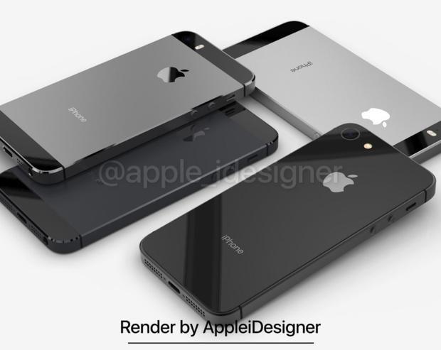 Ngắm iPhone SE 2 'khoe sắc' tuyệt đẹp cạnh đàn anh iPhone SE và iPhone 5