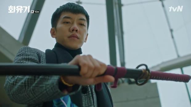 Son Oh Gong và thanh kiếm mà Thiên Đình đã giao phó nhằm bảo vệ dương gian
