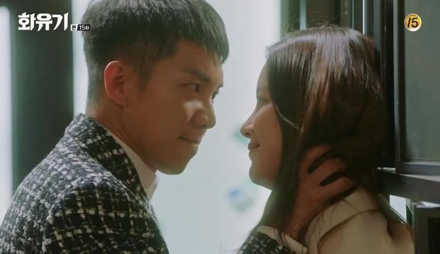 Son Oh Gong bị Ahsanyeo trong thân xác Jin Sun Mi uy hiếp tức muốn văng tròng mắt ra luôn!