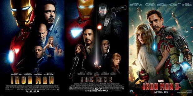 Ngay cả 3 phần phim của Iron Man cũng chọn tuần đầu tháng 5 làm điểm khởi đầu.