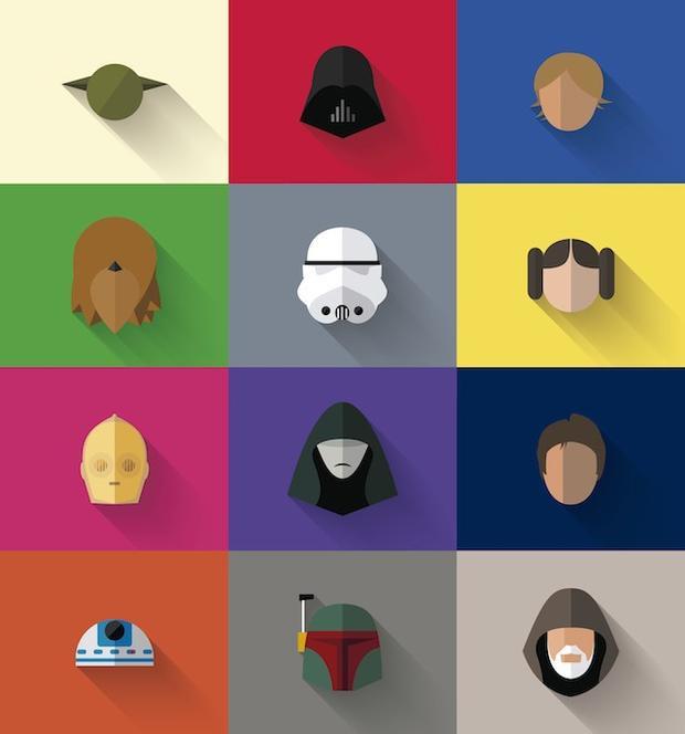 Kho tàng nhân vật đồ sộ đến từ niềm tự hào của Disney - Star Wars.