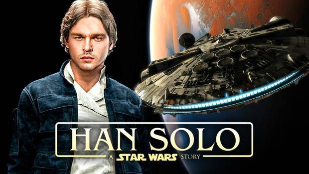 Nhân vật Han Solo thế hệ mới do nam diễn viên điển trai Alden Ehrenreich đảm nhận.