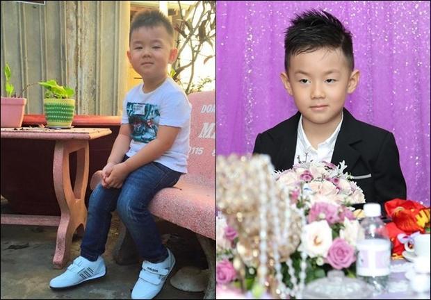 Con trai của Lê Phương và Quách Ngọc Ngoan - Cà Pháohiện tại đã tròn 6 tuổi, cậu bé có gương mặt điển trai, thừa hưởng khá nhiều nét đẹp của ba.