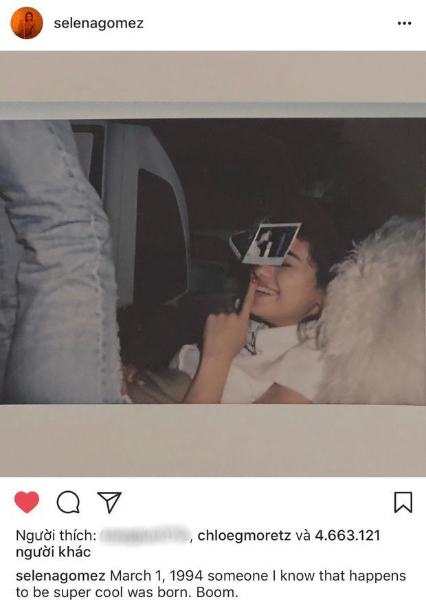 2 năm kể từ trận khẩu chiến, Selena Gomez lần đầu viết về Justin Bieber trên mạng xã hội