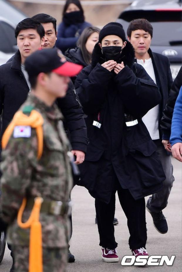 GD tạm rời showbiz 2 năm để phục vụ trong quân đội Hàn Quốc.