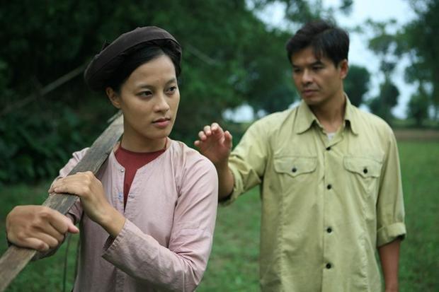 Ngọc Anh trong 1 cảnh phim.
