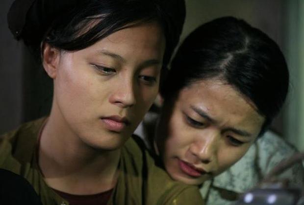 Diễn viên Ngọc Anh (vai Nhân) và Trà My (vai Hạnh).
