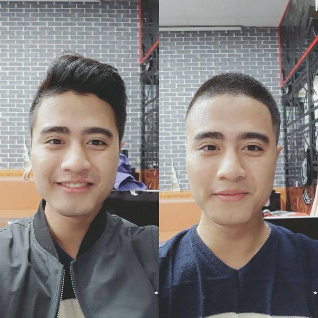 Tóc nào cũng đẹp trai nhỉ? Nhưng bên phải thì nam tính hơn gấp bội