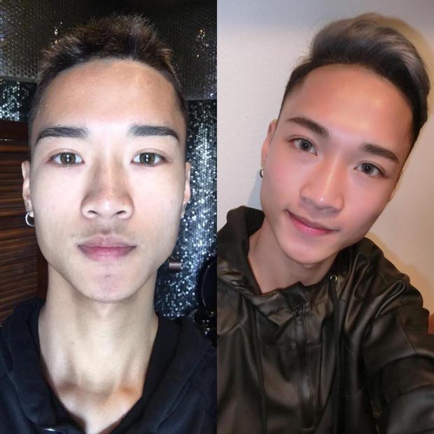Một chút thay đổi nhỏ thôi đã khiến cả gương mặt khác biệt