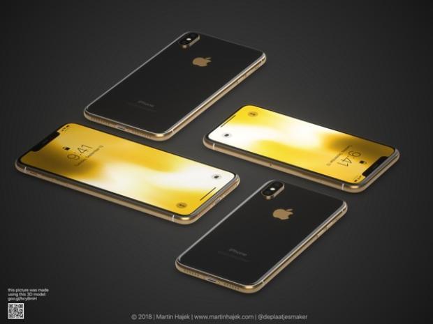 Mãn nhãn với iPhone X phiên bản vàng đẹp không thể kiềm chế