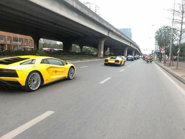 Đàn siêu xe tham dự siêu xe Car & Passion 2018.Ảnh facebook