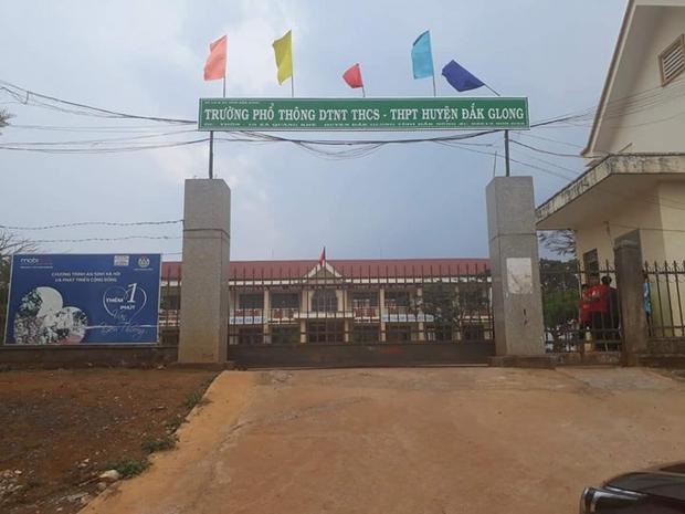 Nhà trường nơi xảy ra sự việc