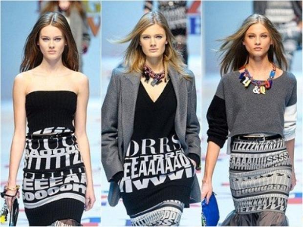 Tóc thẳng là sự lựa chọn thường xuyên để trưng diện cho người mẫu trên các sàn diễn thời trang.