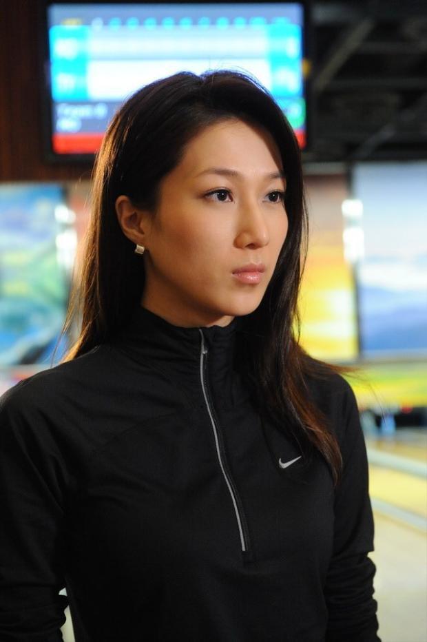 Hình ảnh lạnh lùng của Chung Gia Hân trong phim.
