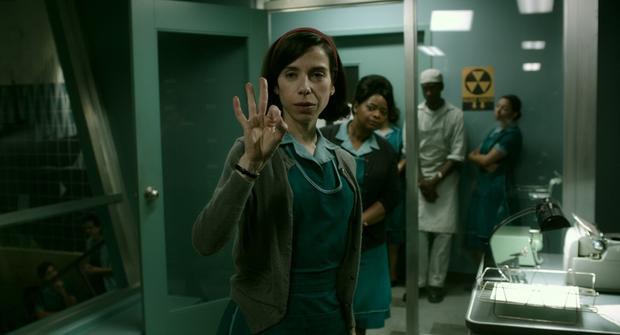 Sally Hawkins đã khắc hoạ thành công vai diễn cô lao công câm Eliza Esposito.