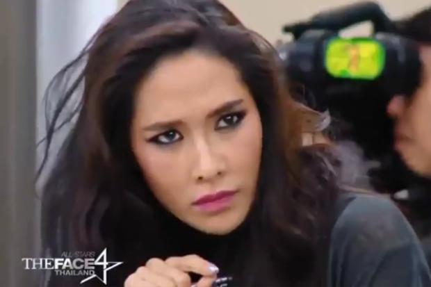 Ploy Chermarn - ngôi sao được mệnh danh là Phạm Băng Băng Thái Lan là HLV thị phạm thử thách phụ trong tập 4.
