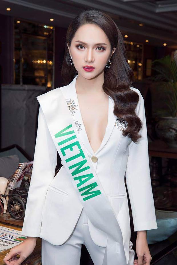 Hương Giang hiện là đại diện Việt Nam tạiMiss International Queen 2018 (Hoa hậu chuyển giới Quốc tế 2018). Cô là đại diện duy nhất của Việt Nam chinh chiến tại đấu trường nhan sắc này. Ngoài sở hữu thân hình nóng bỏng, Hương Giang còn có gương mặt cân đối, thu hút người đối diện.