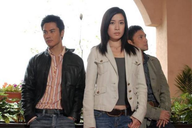 Xa Thị Mạn và Trịnh Gia Dĩnh trong phim.