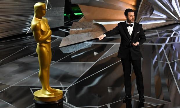 Người chủ trì lễ trao giải Oscar 2018.